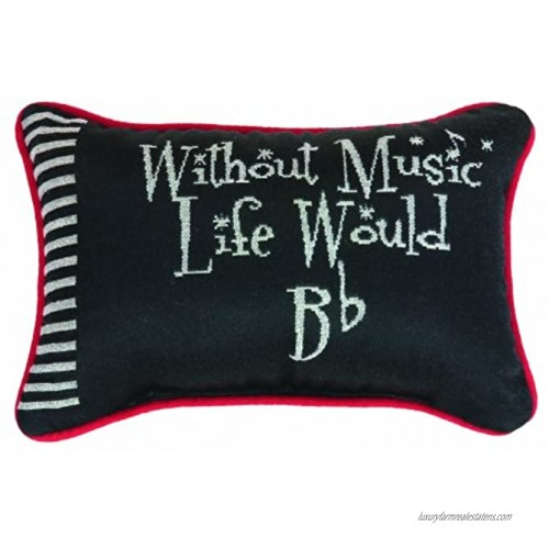 Manual Keynote Collection Take Note Word Pillow 12.5 X 8.5-Inch
