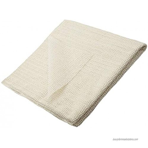 Home Must Haves Anti-Slip Strong Hold Firm Grip Non-Slip Rug Pad 0.125 Beige 5x8 Feet
