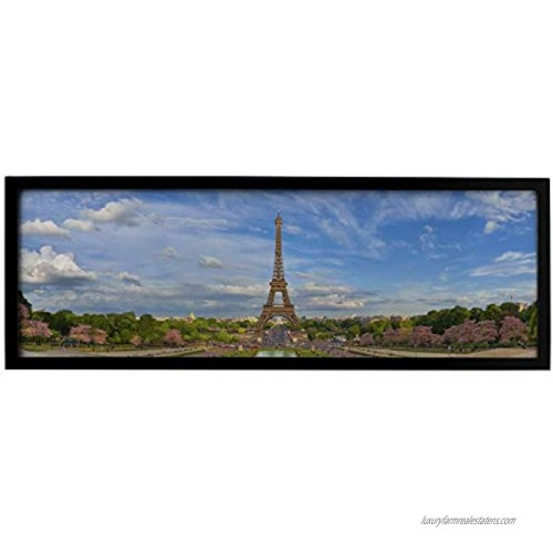 Black Panoramic Picture Frame 24 x 8