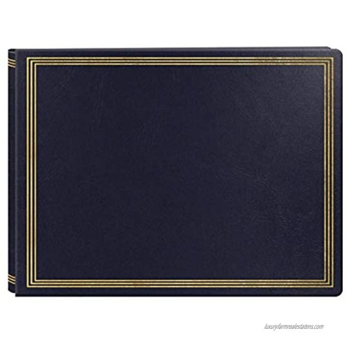 Extra Large Magnetic Page X-Pando Photo Album Navy Blue