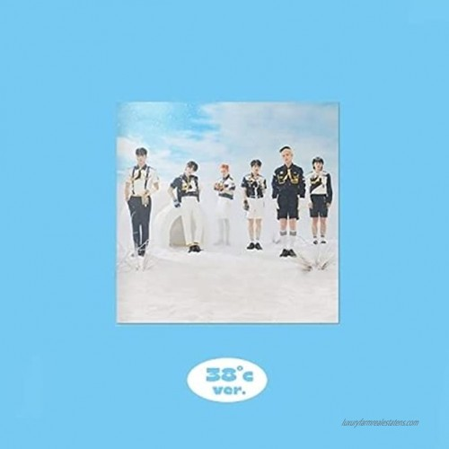 ONF Popping Summer PopUp Album 38℃ Version CD+72p Booklet+2p Selfie PhotoCard+1p Summer PhotoCard+1p Message Letter+Message PhotoCard Set+Tracking Kpop Sealed