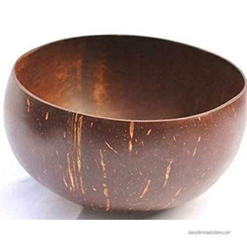 Coconut Bowls for Food,Decorative Wood Bowls for Home Decor